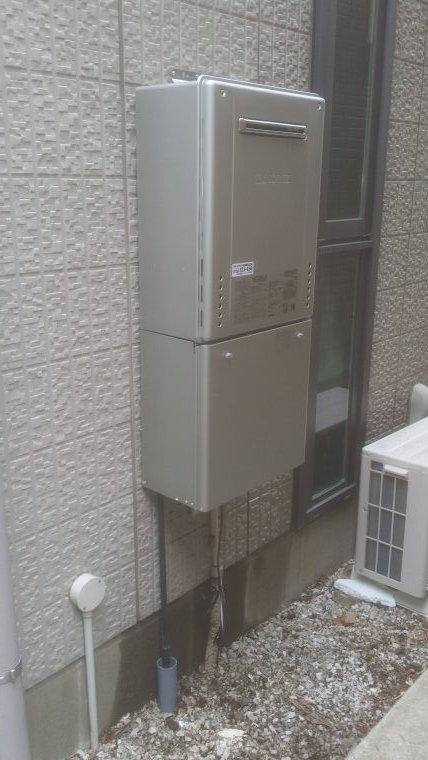 20190307_022 屋外給湯器交換 東京都世田谷区:施工実績