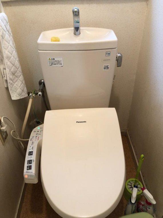 20190311_013 トイレ修理 京都府相楽郡:施工実績