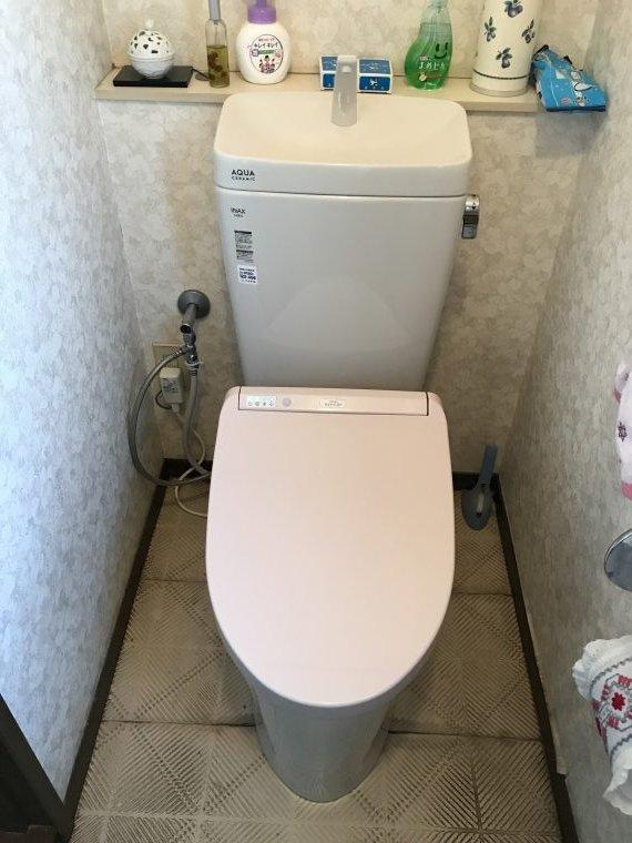 20190313_021 トイレ交換 兵庫県神戸市垂水区:施工実績