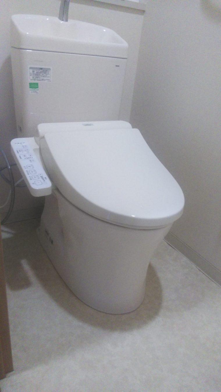 20190318_059 トイレ交換 愛知県豊田市:施工実績