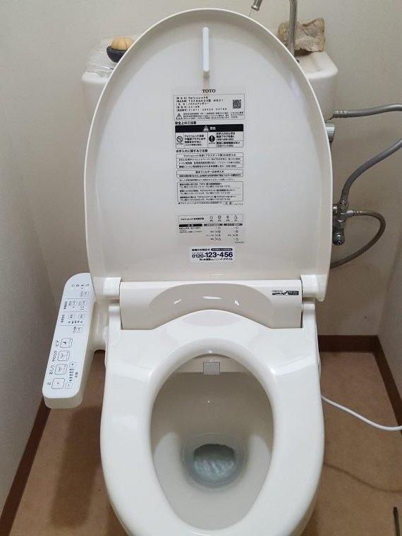 20190429_015 ウォシュレット交換 大阪府堺市中区:施工実績