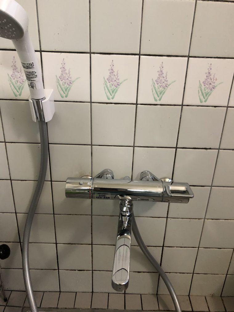 20190430_001 浴室蛇口交換 岡山県久米郡美咲町:施工実績
