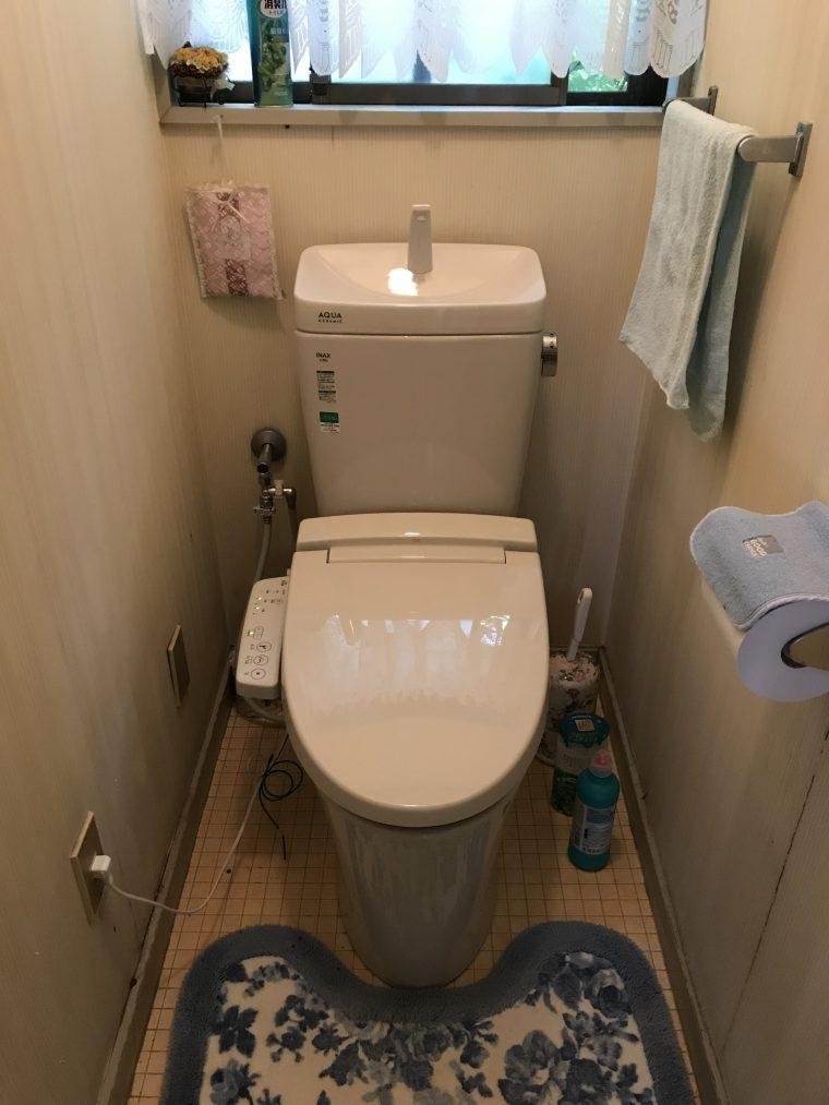 20190603_061 トイレ交換 福岡県福岡市城南区:施工実績