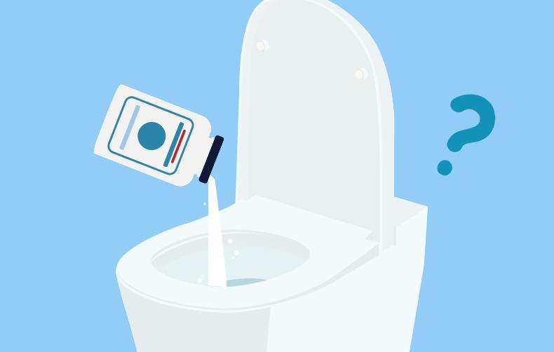 トイレつまりはピーピースルーで解消? 薬剤の種類から使い方までをプロが解説:イメージ