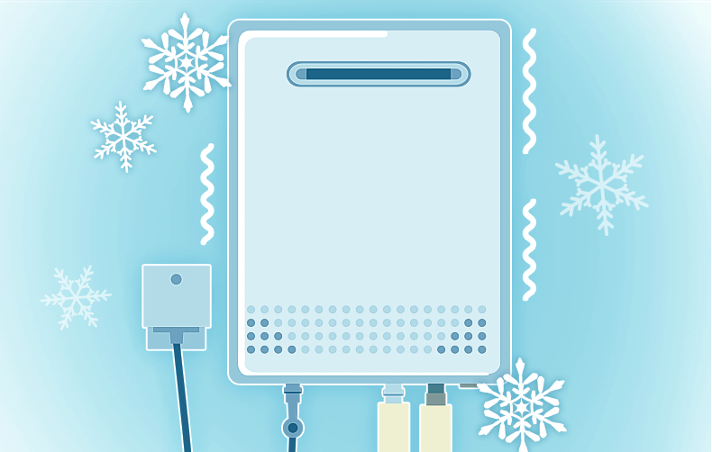 寒い日の給湯器トラブル! すぐにできる凍結防止・対処法をご紹介:イメージ