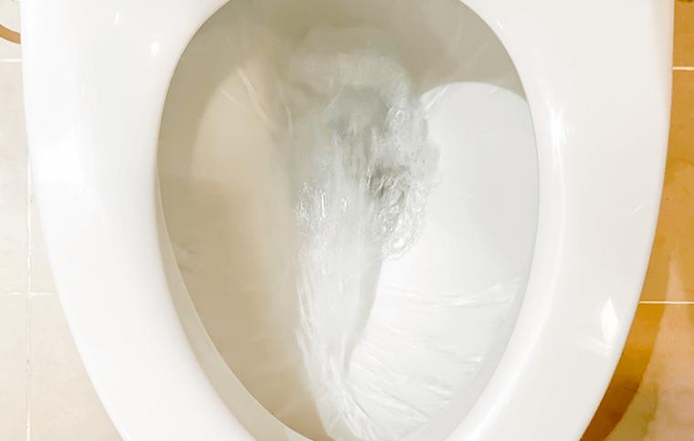 解説! トイレの水がとまらない症状の原因と対処法:イメージ